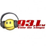 Logo da emissora Rádio Vale do Xingu 93.1 FM