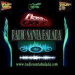 Logo da emissora Rádio Santa Balada