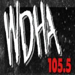 Logo da emissora WDHA 105.5 FM