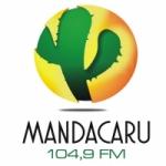 Logo da emissora R�dio Mandacaru 104.9 FM