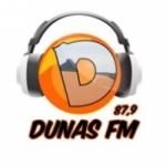 Logo da emissora Rádio Dunas 87.9 FM