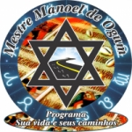 Logo da emissora Rádio Mestre Manoel