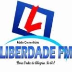 Logo da emissora Rádio Liberdade 98.1 FM