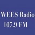Logo da emissora Radio WEES 107.9 FM