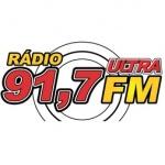 Logo da emissora R�dio Ultra 91.7 FM