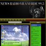 Logo da emissora News Vila Verde FM