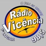 Logo da emissora R�dio Vic�ncia 98.5 FM