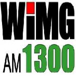 Logo da emissora WIMG 1300 AM