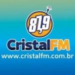 Logo da emissora Rádio Cristal 87.9 FM