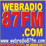 Logo da emissora Webrádio 87 FM
