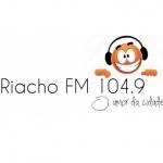 Logo da emissora Rádio Riacho 104.9 FM