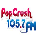 Logo da emissora WBZZ 105.7 FM