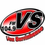 Logo da emissora Rádio Voz Serrinhense 104.9 FM