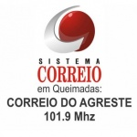 Logo da emissora R�dio Correio do Agreste 101.9 FM