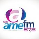 Logo da emissora Rádio Ame 87.5 FM
