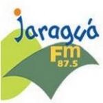 Logo da emissora Radio Jaraguá 87.5 FM