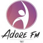 Logo da emissora R�dio Adore 98.1 FM