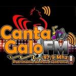 Logo da emissora Rádio Canta Galo 87.9 FM