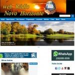Logo da emissora Web R�dio Novo Horizonte