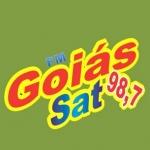 Logo da emissora Rádio Goiás Sat 98.7 FM