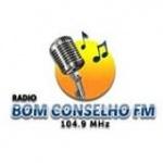 Logo da emissora Rádio Comunitária Bom Conselho 104.9 FM