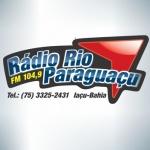 Logo da emissora Rádio Rio Paraguaçu 104.9 FM