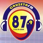 Logo da emissora R�dio Cruzeta 87.9 FM