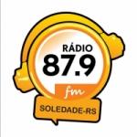 Logo da emissora Rádio Voz Soledadense 87.9 FM