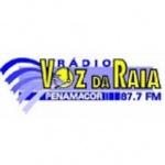 Logo da emissora Radio Voz da Raia FM 87.7