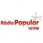 Logo da emissora Radio Popular FM 101.0