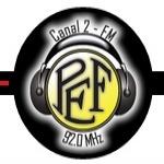 Logo da emissora Posto Emissor do Funchal FM 92.0