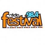 Logo da emissora Rádio Festival 98.4 FM