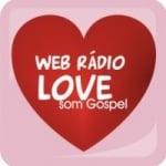 Logo da emissora Web R�dio Love Som Gospel