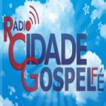 Logo da emissora Rádio Cidade Gospel Fé