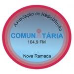 Logo da emissora Rádio  Nova Ramada 104.9 FM