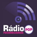 Logo da emissora R�dio Fecomerci�rios Pop