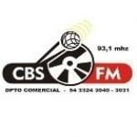 Logo da emissora Rádio CBS 93.1 FM