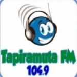 Logo da emissora Rádio Tapiramutá  104.9 FM