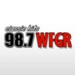 Logo da emissora WFGR 98.7 FM