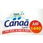 Logo da emissora Rádio Canaã Cariri 1440 AM