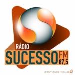 Logo da emissora Rádio Sucesso 87.5 FM