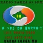 Logo da emissora Rádio Barra Longa 87.9 FM