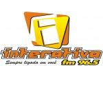Logo da emissora Rádio Interativa 96.5 FM