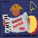 Logo da emissora Rádio Sertões Web