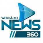 Logo da emissora Rádio News 360
