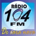 Logo da emissora R�dio 104.9 FM Joma�ma