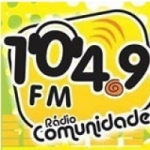 Logo da emissora Rádio Comunidade 104.9 FM