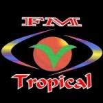 Logo da emissora Rádio Tropical 92.5 FM