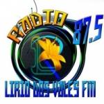 Logo da emissora R�dio Lirio dos Vales 87.5 FM