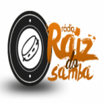 Logo da emissora Rádio Raiz do Samba